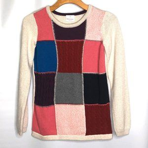 HANNA ANDERSSON KNIT PATCHWORK SWEATER 160…